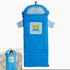 OZARK TRAIL Blue Sparky Robot Kids' Sleeping Bag